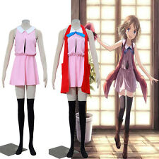 New Beautiful Pokemon GO Serena Cosplay Costume Pink Dress Custom Size