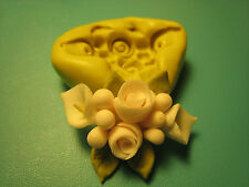 Flower Bouquet Wedding Silicone Mold Gumpaste Fondant isomalt polymer clay #112