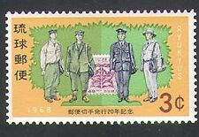 Ryukyus 1968 Postmen/Stamp-on-Stamp/Cycad/Post/Mail 1v (n34152)