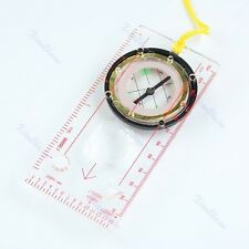 Baseplate Map Ruler Scale Scouts Camping Hiking Compass Hot