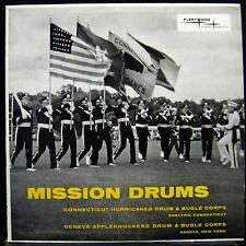 VARIOUS DRUM & BUGLE CORPS mission drums LP VG+ FSLP 2004 Vinyl  Record