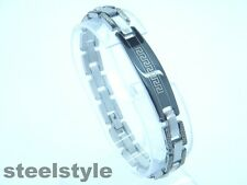 BRACELET STAINLESS STEEL ROMAN STYLE MEN'S JEWELLERY BRACELET RS5