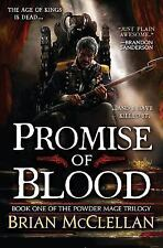 Promise of Blood The Powder Mage Trilogy