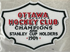 1904 OTTAWA SILVER SEVEN OFFICIAL NHL HOCKEY TEAM PATCH