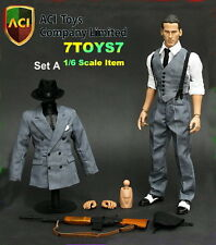 ACI Toys 1/6 Gangster Johnny Set A_ Box Set _Bar Gun NOW  AT021Y