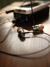 DIY Senheiser IE8 Driver Pro Quality hifi Earphone Silver Plated Wire