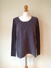 COS  LADIES GREY WOOL TOP SIZE 36