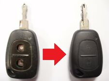 Repair service for Renault Trafic Vauxhall Vivaro remote key fob + new case