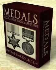 MEDALS, DECORATIONS, INSIGNIA & UNIFORMS 56 Vintage books on DVD-Rom WWII, Medal