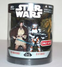 Star Wars Order 66 Figure - OBI-WAN KENOBI + AT-RT DRIVER - Series 1 (4/6)