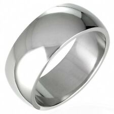 Size 12 Wedding Band Ring Mirror Polish 7mm Stainless Steel    b77