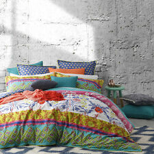 Logan and Mason FRIDA MULTI King Size Bed Doona Duvet Quilt Cover Set BRAND NEW