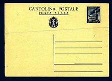 ITALIA - Regno - Cart. post. - PA - 1943 - Aerei in volo - 70 cent. turchino