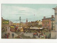 Market Place Great Yarmouth 1907 Postcard 283a