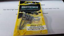 1 Pack SPRO SPSCLB Power Swivel w/Coastlock Snap 180# Test Size 1/0x5  2 Pieces