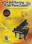 Alfred's Self-Teaching: Alfred's Self-Teaching Adult Piano Course : The new, ea…