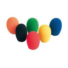Set di 6 Spugne Antivento Colorate, Copertura per Microfono universali - WS06C