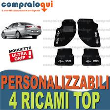 TAPPETI PER ALFA ROMEO 166 TAPPETINI AUTO SU MISURA + 4 DECORI TOP RICAMATI