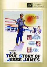 The True Story of Jesse James DVD (1957) Jeffrey Hunter Robert Wagner Hope Lange