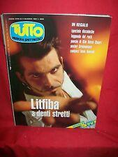 TUTTO Mag 1994 LITFIBA Edo Bennato Pink Floyd U2 Nomadi Traffic Fortis Vallesi