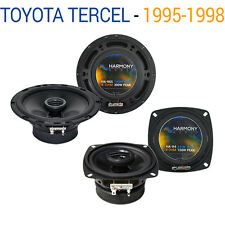 Toyota Tercel 1995-1998 Factory Speaker Upgrade Harmony R4 R65 Package New
