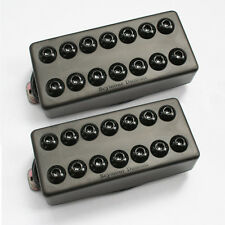 Seymour Duncan SH-8 Invader 7 String Neck Bridge Passive Mount Metal pickup set