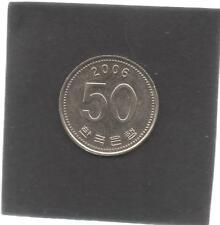 Moneta Corea Sud SOUTH KOREA Suedkorea 50 Won 2006 CAS13