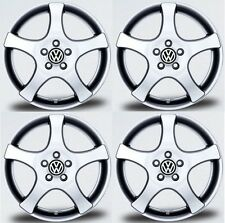 "SET OF FOUR NEW GENUINE VW VOLKSWAGEN 15"" REGGAE 5X100 ACCESSORY ALLOY WHEELS X4"