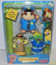 Fisher Price Nick Jr. Wonder Pets Career Heroes 3 Figures 2009 NEW