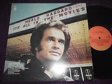 "MERLE HAGGARD  ""IT'S ALL IN THE MOVIES ""  1976 UK LP CAPITOL E-ST11483"