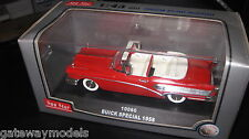 1/43 SUN STAR 1958 BUICK SPECIAL CONVERTIBLE RED  #10060  OLD SHOP STOCK