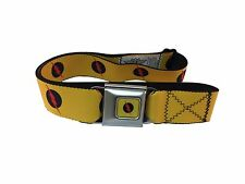 The Flash Reverse Flash Logo DC Comics Officially Licensed Seatbelt Belt