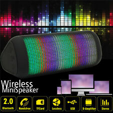 Bluetooth Wireless Speaker ALTAVOZ Super Bass para iPhone iPod iPad Samsung LED