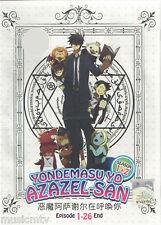 DVD Yondemasu Yo Azazel-San Season 1+2 ( TV 1 - 26 End ) Eng SUB + Free Gift