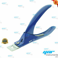 YNR Professional New Acrylic Nail Tip Cutter Clipper Gel False Nail Arts Blue