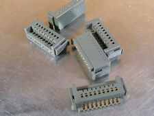 (Lot of 5 ) 19-Pin Ribbon Wire Connector Blocks 1-9/16 wide (40mm)