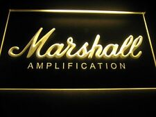 Marshall Amplification Beer Bar LED Light Sign Neon B337