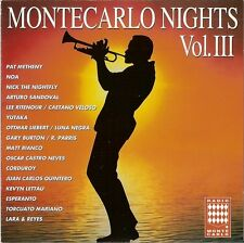 Montecarlo Nights Vol. 3 III Caetano Veloso/Nick the Nightfly Cd Eccellente