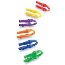 Learning Resources - 6 x Childrens Gator Grabber Plastic Tweezers