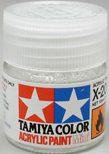 TAMIYA COLOR ACRYLIC X-20A Thinner 10ml MODEL KIT PAINT NEW