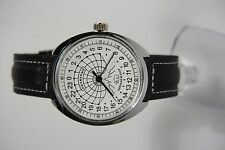 Mechanical watch RAKETA POLAR BEAR 24-HOUR.Case 39mm New. White dial