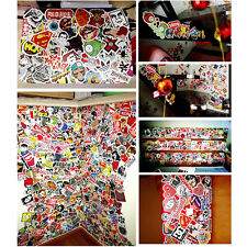 50 Pieces Stickers Skateboard Laptop Luggage Bike Bicycle Decals mix Lot Cool*