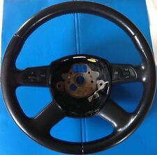2005 A6 AUDI DRIVER STEERING WHEEL W / SWITCHES OEM 4F0 419 091 AH