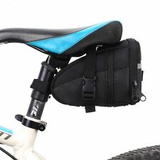 Outdoor Bicycle Bike Saddle Bag Strap-On Cycling Seat Tail Pack Storage Pouch