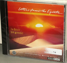 Reference Recordings RR-56CD: Jim Brock - Letters From the Equator - USA 1993 SS