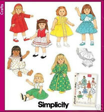 SEWING PATTERN! MAKE DOLL CLOTHES! FITS AMERICAN GIRL MOLLY~KIT! 40'S STYLES!