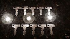 CLUB CAR GOLF CART KEY (10) TEN ** BEST PRICE ** FREE USA SHIPPING DS PRECEDENT