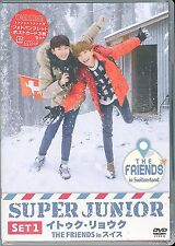 SUPER JUNIOR-LEETEUK. RYEOWOOK THE FRIENDS IN SWITZERLAND SET 1-JAPAN 2 DVD Q85
