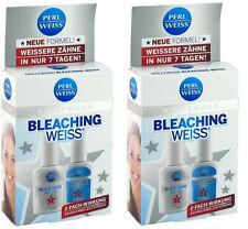 Perlweiss Hollywood Bleaching Weiss Aufheller+Aktivator+Aufhellungssk 2xStk#609