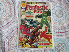 FANTASTIC FOUR #5 KING SIZE SPECIAL COMIC 1st solo silver surfer story; inhumans